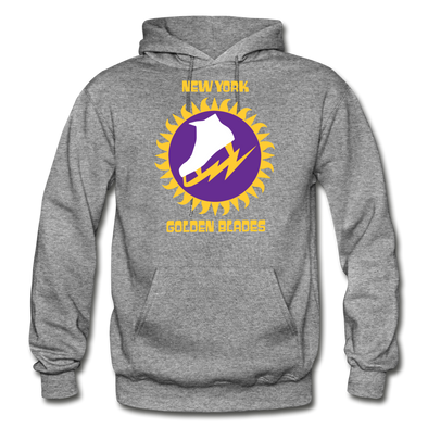 New York Golden Blades Logo Hoodie (WHA) - graphite heather