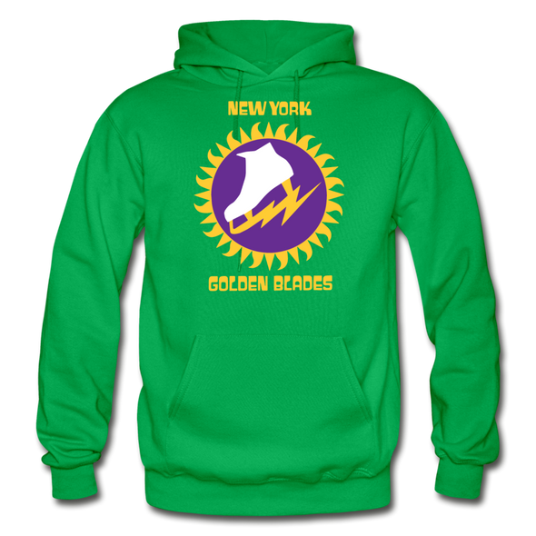 New York Golden Blades Logo Hoodie (WHA) - kelly green
