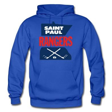 Saint Paul Rangers Hoodie - royal blue