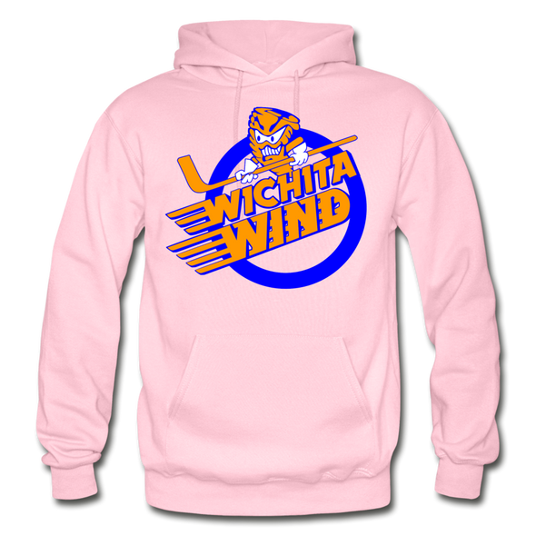 Wichita Wind Logo Hoodie (CHL) - light pink