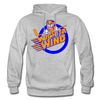 Wichita Wind Logo Hoodie (CHL) - heather gray