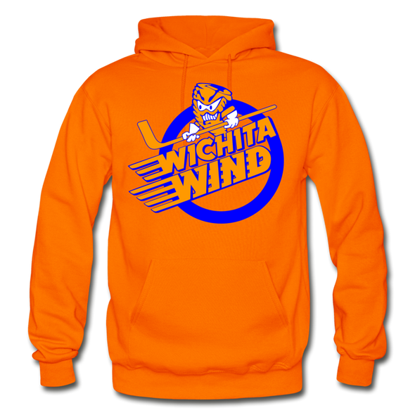 Wichita Wind Logo Hoodie (CHL) - orange