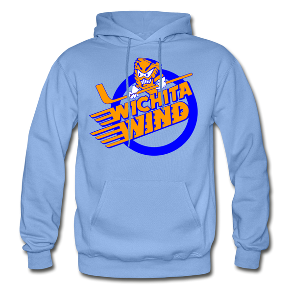Wichita Wind Logo Hoodie (CHL) - carolina blue