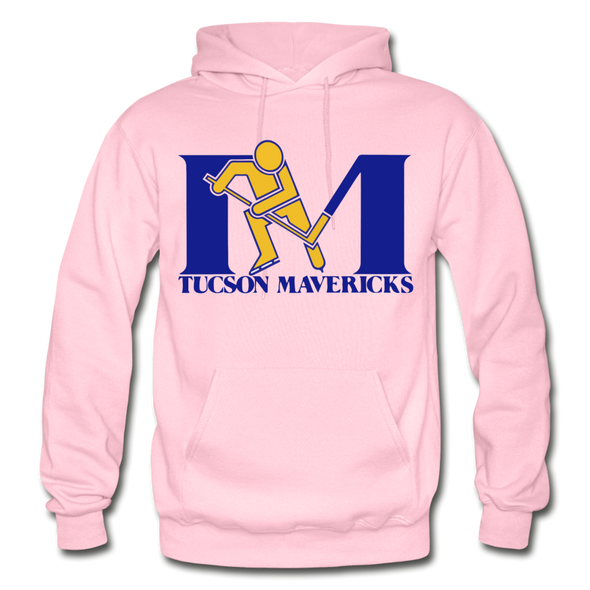 Tucson Mavericks Logo Hoodie (CHL) - light pink