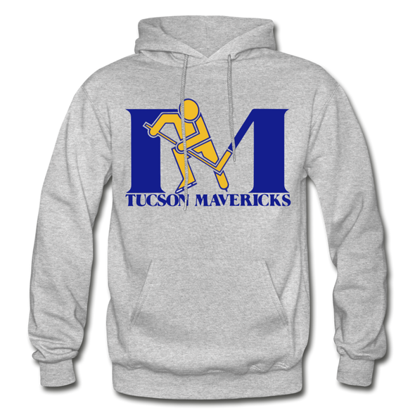 Tucson Mavericks Logo Hoodie (CHL) - heather gray
