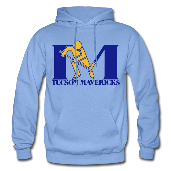 Tucson Mavericks Logo Hoodie (CHL) - carolina blue