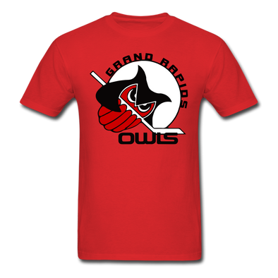Grand Rapids Owls T-Shirt - red