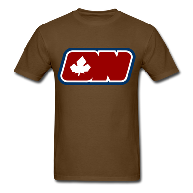 Ottawa Nationals Logo T-Shirt (WHA) - brown