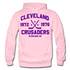 Cleveland Crusaders Double Sided Hoodie - light pink