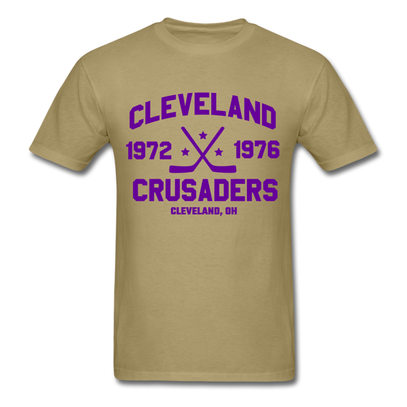 Cleveland Crusaders Dated T-Shirt (Extended Size) - khaki