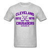 Cleveland Crusaders Dated T-Shirt (Extended Size) - heather gray