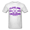 Cleveland Crusaders Dated T-Shirt (Extended Size) - light heather gray