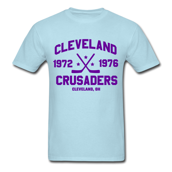 Cleveland Crusaders Dated T-Shirt (Extended Size) - powder blue