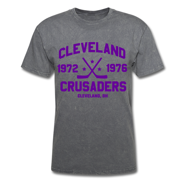 Cleveland Crusaders Dated T-Shirt (Extended Size) - mineral charcoal gray