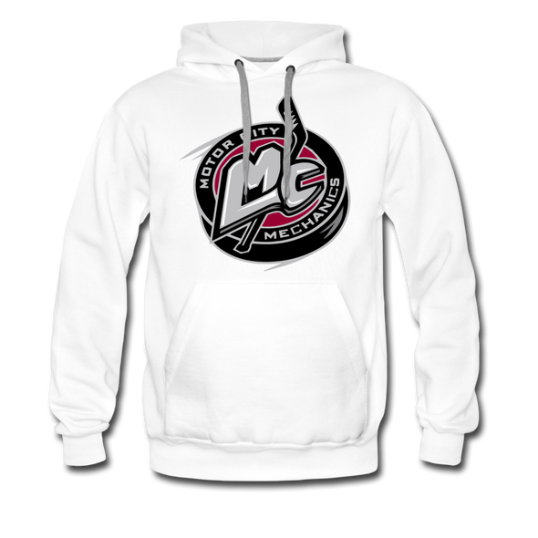 Motor City Mechanics Premium Hoodie - white