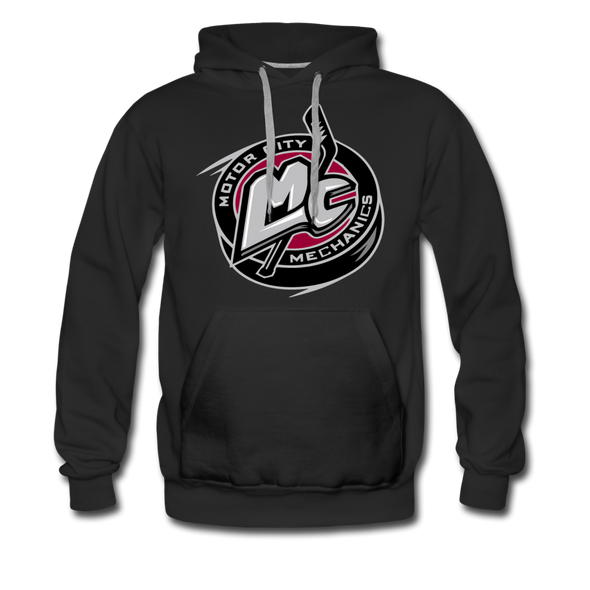 Motor City Mechanics Premium Hoodie - black