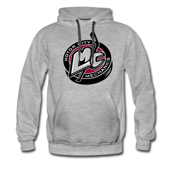 Motor City Mechanics Premium Hoodie - heather gray
