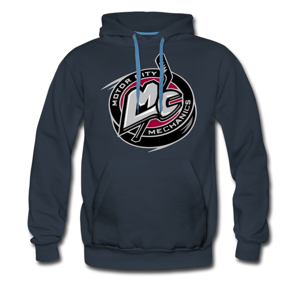 Motor City Mechanics Premium Hoodie - navy