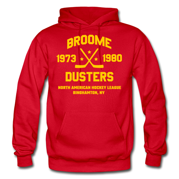 Broome Dusters Double Sided Hoodie - red