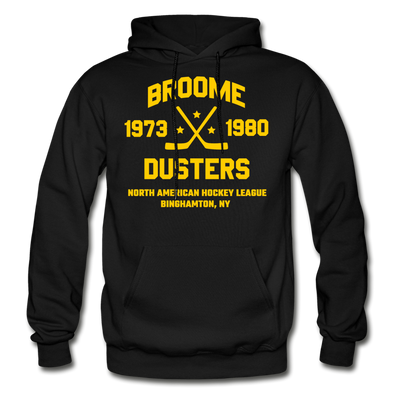 Broome Dusters Double Sided Hoodie - black