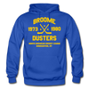 Broome Dusters Double Sided Hoodie - royal blue