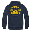 Broome Dusters Double Sided Hoodie - navy