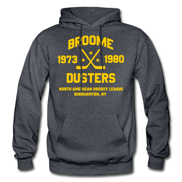 Broome Dusters Double Sided Hoodie - charcoal gray