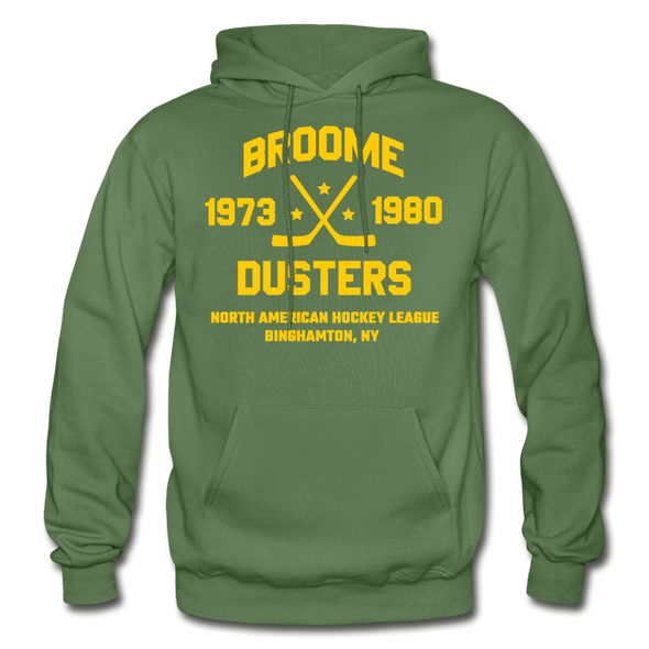 Broome Dusters Double Sided Hoodie - military green