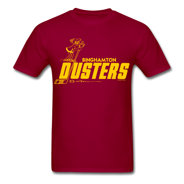 Binghamton Dusters T-Shirt - dark red