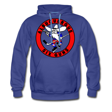 Albuquerque Six GUns Premium Hoodie - royalblue