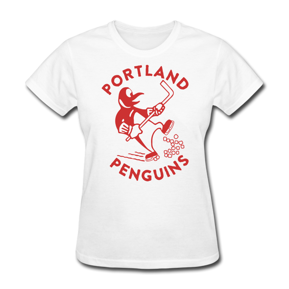 Portland Penguins Women's T-Shirt - white