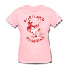 Portland Penguins Women's T-Shirt - pink