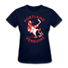 Portland Penguins Women's T-Shirt - navy
