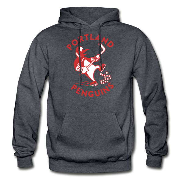 Portland Penguins Hoodie - charcoal gray