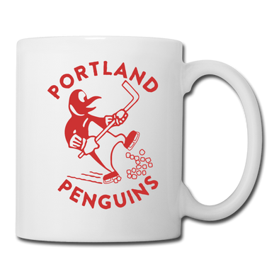 Portland Penguins Mug - white