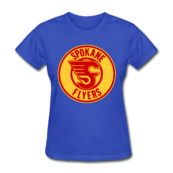 Spokane Flyers Women's T-Shirt - royal blue
