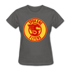Spokane Flyers Women's T-Shirt - charcoal
