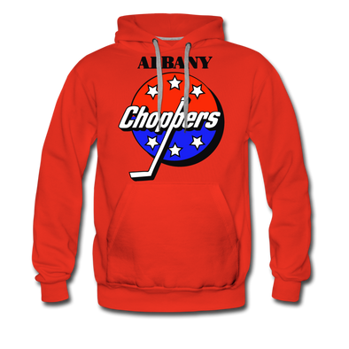 Albany Choppers Premium Hoodie - red