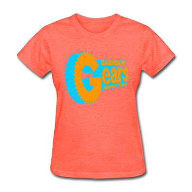 Saginaw Gears Women's T-Shirt - heather coral