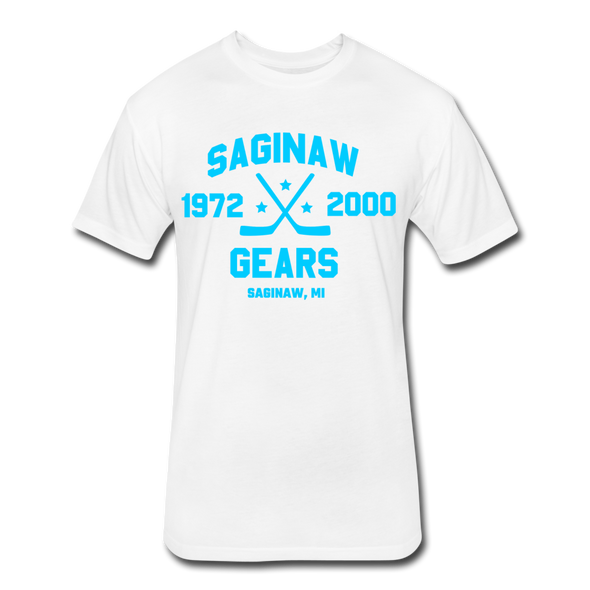 Saginaw Gears Dated T-Shirt - white
