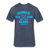 Saginaw Gears Dated T-Shirt - heather navy