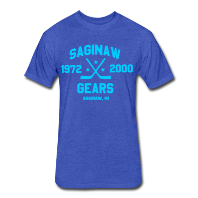 Saginaw Gears Dated T-Shirt - heather royal