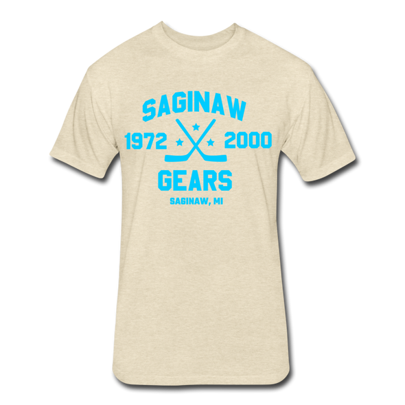 Saginaw Gears Dated T-Shirt - heather cream