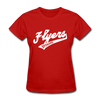Spokane Flyers Script Women's T-Shirt - red
