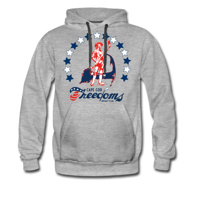 Cape Cod Freedoms Premium Hoodie - heather gray