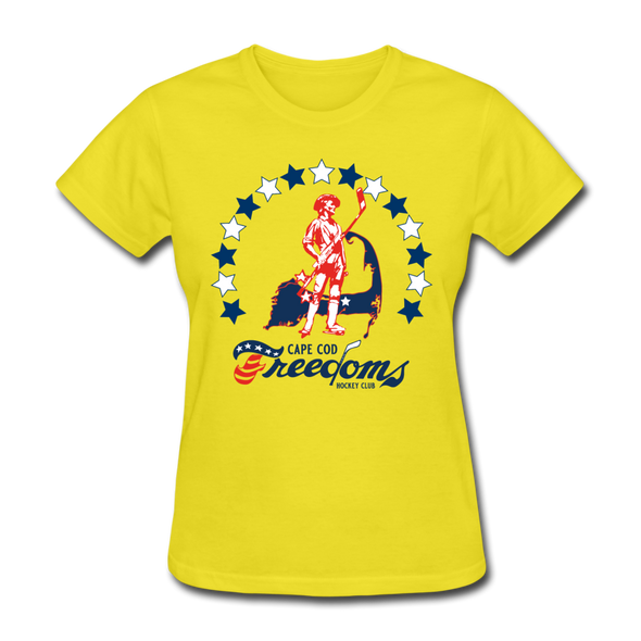 Cape Cod Freedoms Women's T-Shirt - yellow