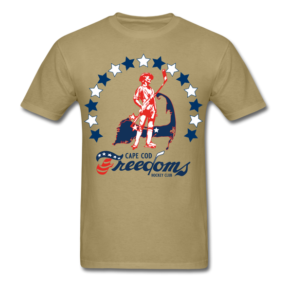 Cape Cod Freedoms T-Shirt - khaki