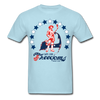 Cape Cod Freedoms T-Shirt - powder blue