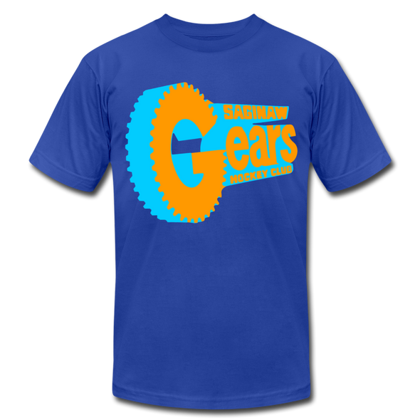 Saginaw Gears Premium T-Shirt - royal blue