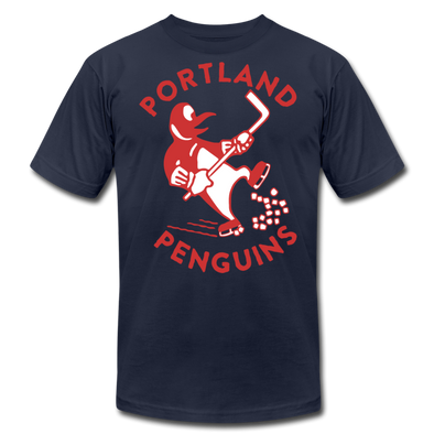 Portland Penguins Premium T-Shirt - navy